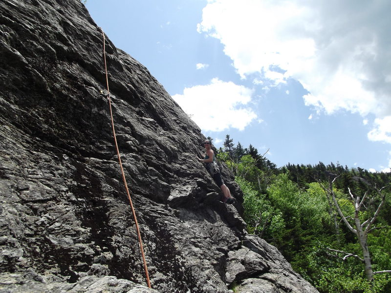 Emily on Standard route