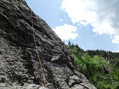 Rock Climbing Photo: Emily on Standard route
