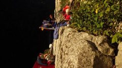 Rock Climbing Photo: Seneca cragging