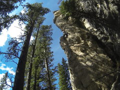 Rock Climbing Photo: Let Me Ride, 5.12a