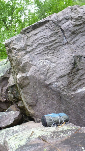 Rock Climbing Photo: Fat Trick.