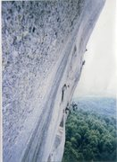 Rock Climbing Photo: An older scanned photo I took back in the early 90...