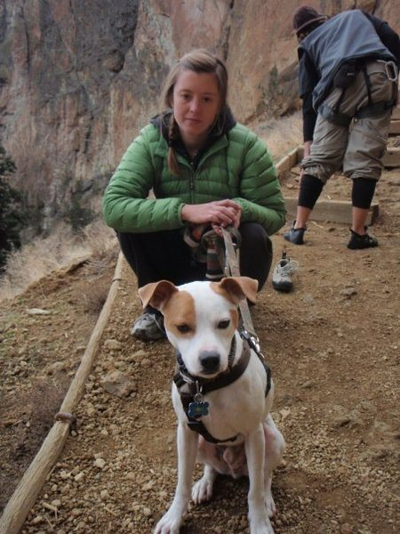 Rock Climbing Photo: Jackson and I at Smith Rocks