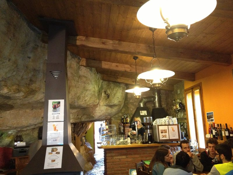Refugio de Suirana - bar