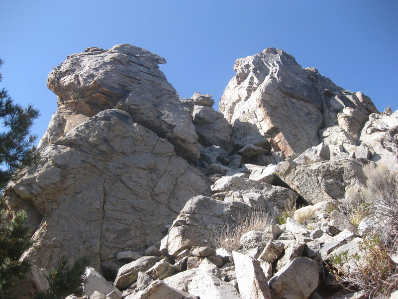 Greenhouse (Left) and Alpine (Right) Rocks