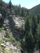 Rock Climbing Photo: Turtle Rock: A Crag for Kids.  The Fiona Route, 5....