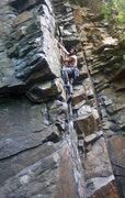Rock Climbing Photo: Leading at Birdsboro