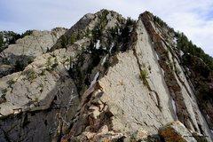Rock Climbing Photo: photo: Mooner  The money section - you won't follo...