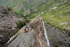 Rock Climbing Photo: photo: Mooner  Here again you can see the various ...