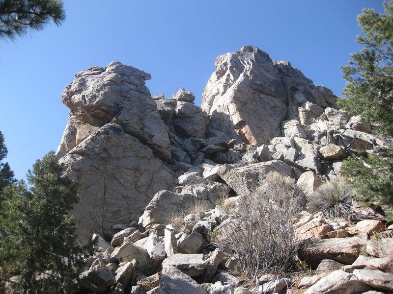 Rock Climbing Photo: Greenhouse and Alpine Rocks.