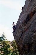 "Rock Climbing Photo: 2nd ascent ""Welcome to Joaquin's"" on the..."