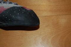 Rock Climbing Photo: Left toe.