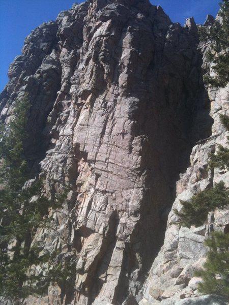 Rock Climbing Photo: Cat in the Hat, El Tigre, 5.11c PG-13.