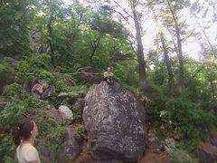 Rock Climbing Photo: Cfresh top out loads of fun