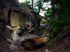 Rock Climbing Photo: Scott Hall on Turtlehead