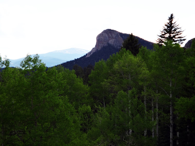Lion's Head in the distance from the main trail.