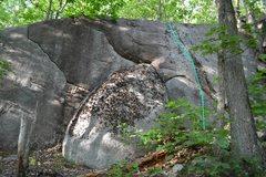 Rock Climbing Photo: The Something Seam