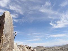 Rock Climbing Photo: Kelly Vaught on Graham's Rabbit.