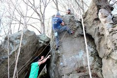 Rock Climbing Photo: Baker Run, Marietta, Ohio.