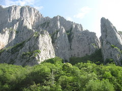 Rock Climbing Photo: A view of the right central portion of the Vratsa,...