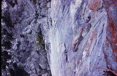 Rock Climbing Photo: FA Invisible Nebulae. P-5 No Reverse Traverse (A4)...