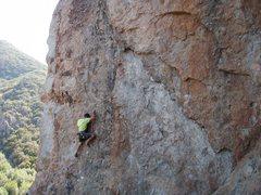 Climber Isaac Shirley 6-7-13