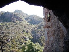 Rock Climbing Photo: climber Isaac Shirley 6-7-13