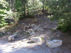 Rock Climbing Photo: Start of the Aspen Trail. Don't let the guy cleani...
