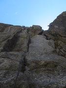 Rock Climbing Photo: West Crack.