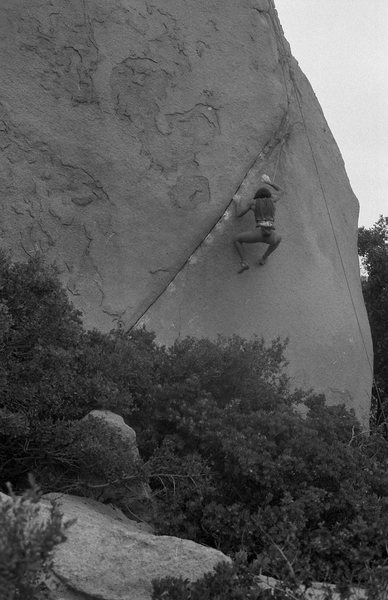 1986 Bouldering Championship. Christian Griffith.