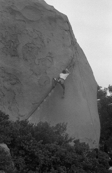 Rock Climbing Photo: 1986 Bouldering Championship.