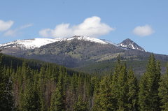 Rock Climbing Photo: Windy Peak from Toats Coulee Middle Fork creekside...