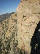 Rock Climbing Photo: Cream of Belay from Aegir, picture taken from Char...