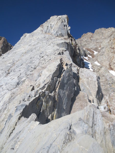Rock Climbing Photo: Cool climbing on a ridge