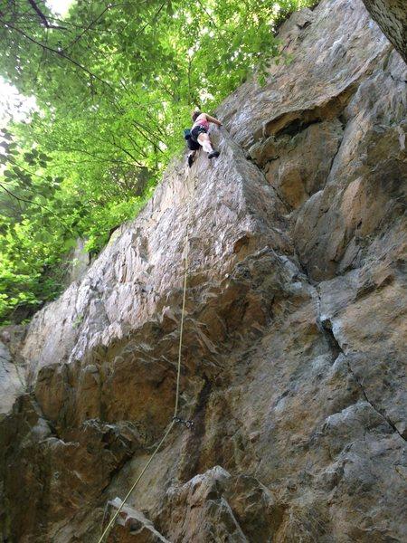 Rock Climbing Photo: Dirty Thing