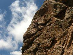 Rock Climbing Photo: Airy fun.