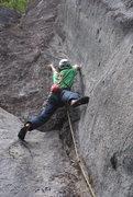 Rock Climbing Photo: Dead Man's Reach P1 5.11