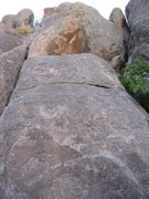 Rock Climbing Photo: Nearly the full glance at The Serpent.