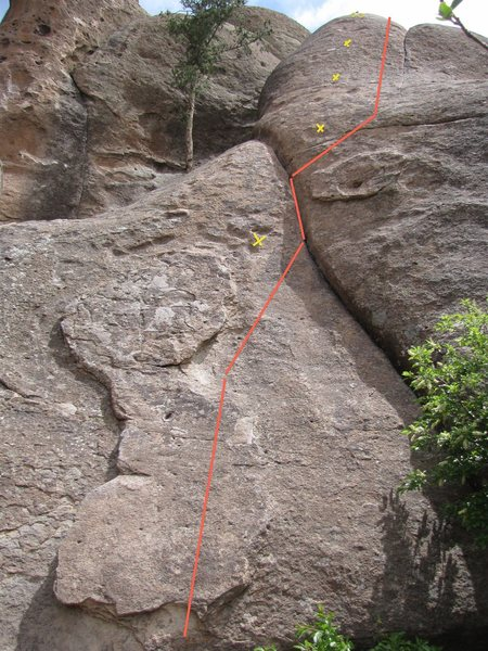 The Line - liked the variance of climbing on this one.