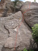 Rock Climbing Photo: The Line - liked the variance of climbing on this ...