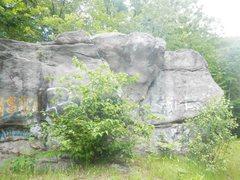 Rock Climbing Photo: main boulder south side