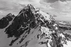 Rock Climbing Photo: Middle Teton.