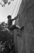 Rock Climbing Photo: Ron Kauk. First Annual Stone Masters Competition 1...