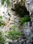 The cave from the right side.