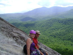 Rock Climbing Photo: Top of The Nose with my climbing partner