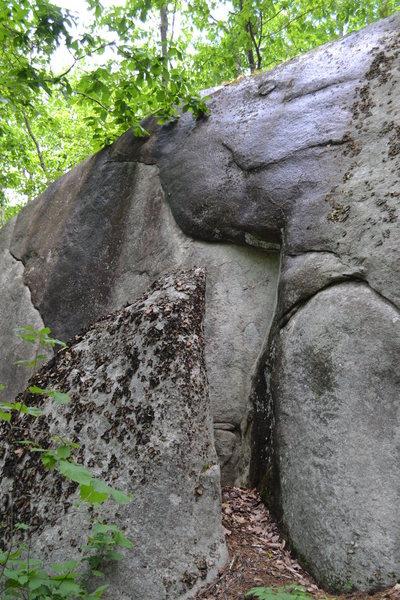Rock Climbing Photo: Alternative start to Tarter Sauce