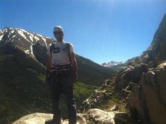 Rock Climbing Photo: Top of P4.