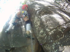 Rock Climbing Photo: I thought the start was pretty tricky and not part...