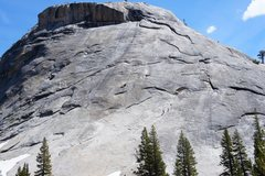 Rock Climbing Photo: climbers heading to Z tree on right, and two climb...