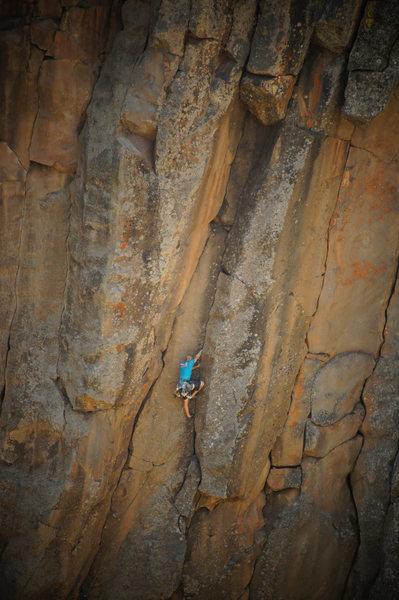 Rock Climbing Photo: Joel